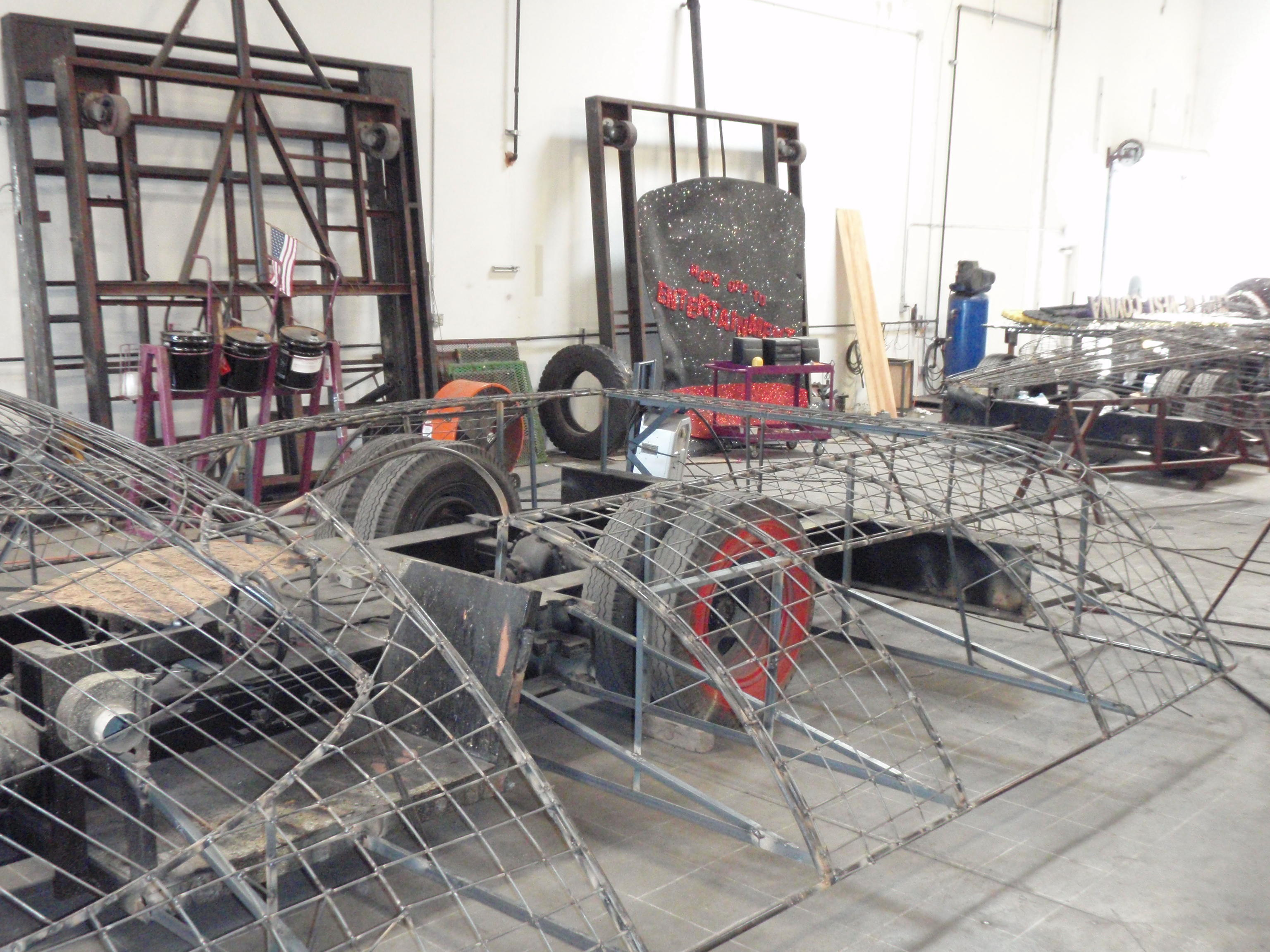 Back of Chassis